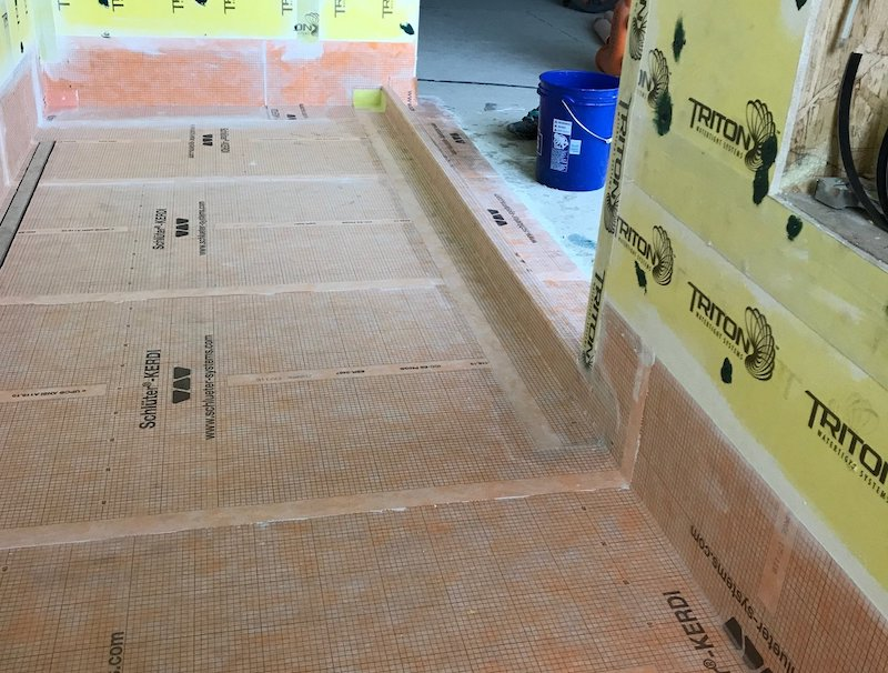 Waterproofing - sub-surface waterproofing is key to a durable project.