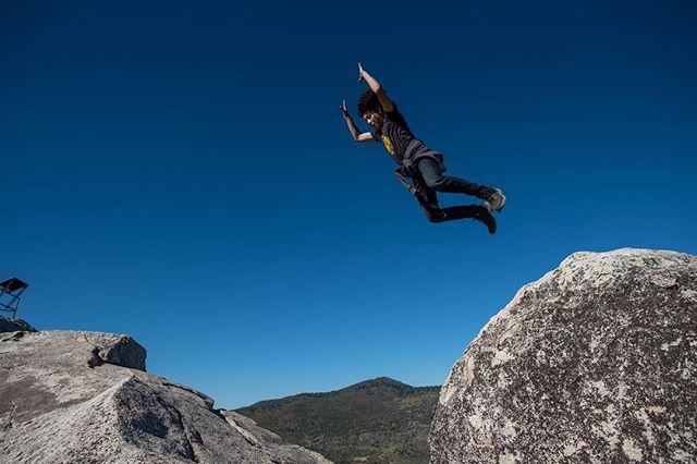 Just Tyler flying over Mt Laguna