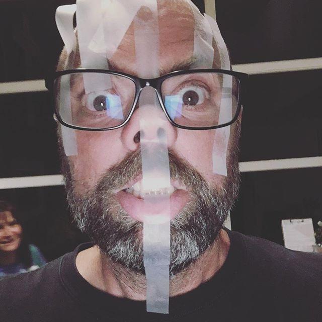 A proper tape face