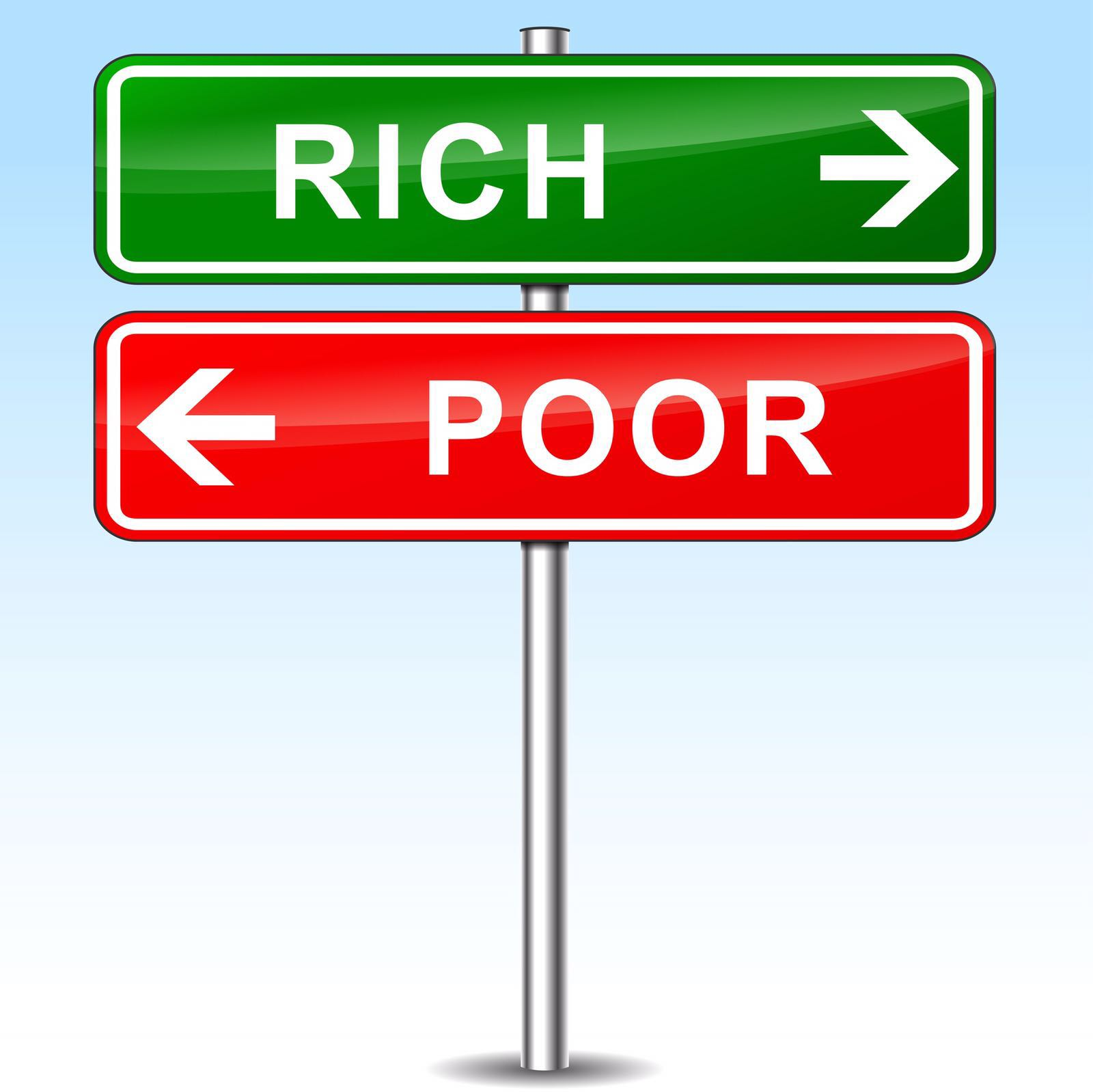 image asset - Rich people vs poor people: the main difference