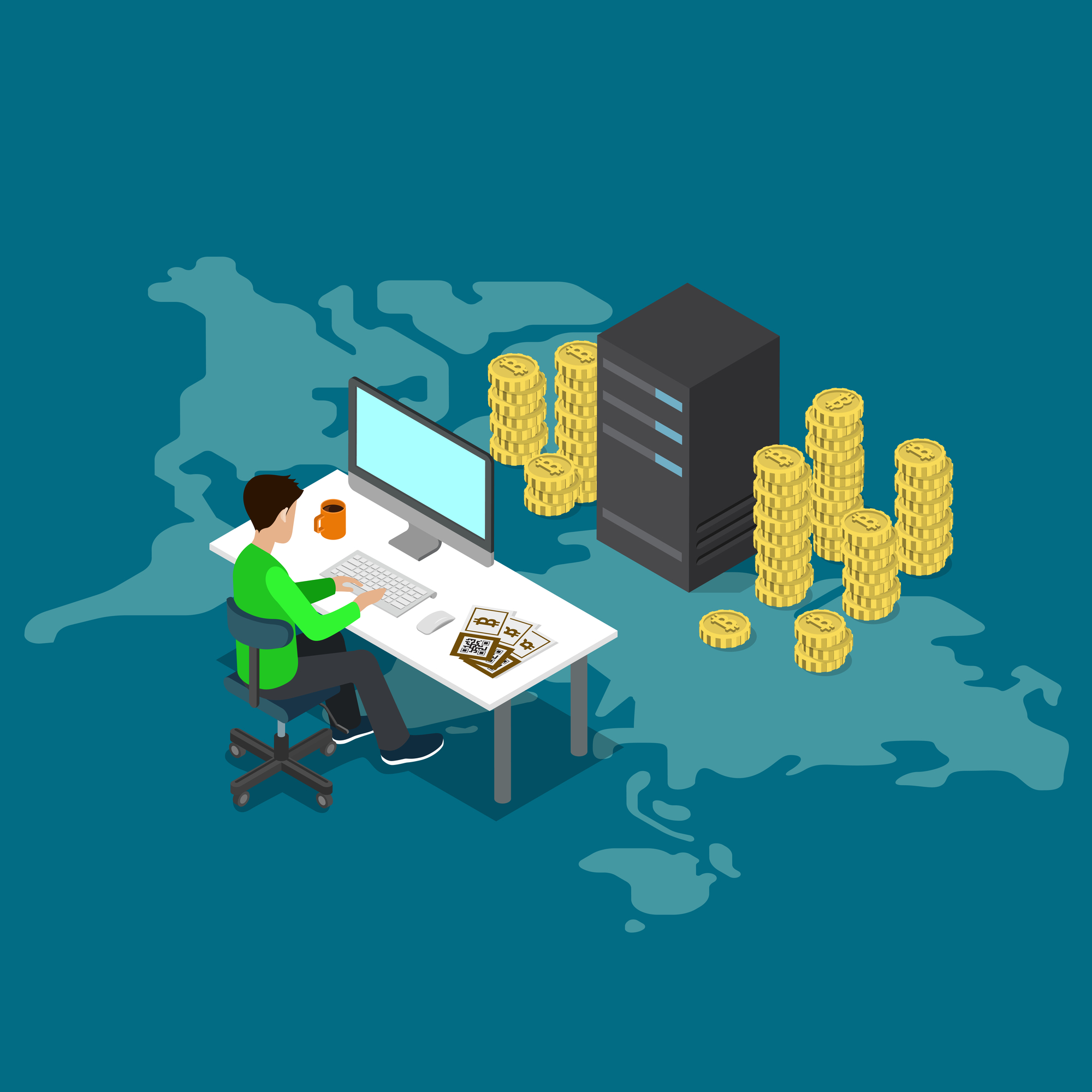 Do you need my team help? - Please write me an email with your specific case or book a Skype Call, my team and I will be more than happy to help you to choose the best solution for your Cryptocoin Mining Company.