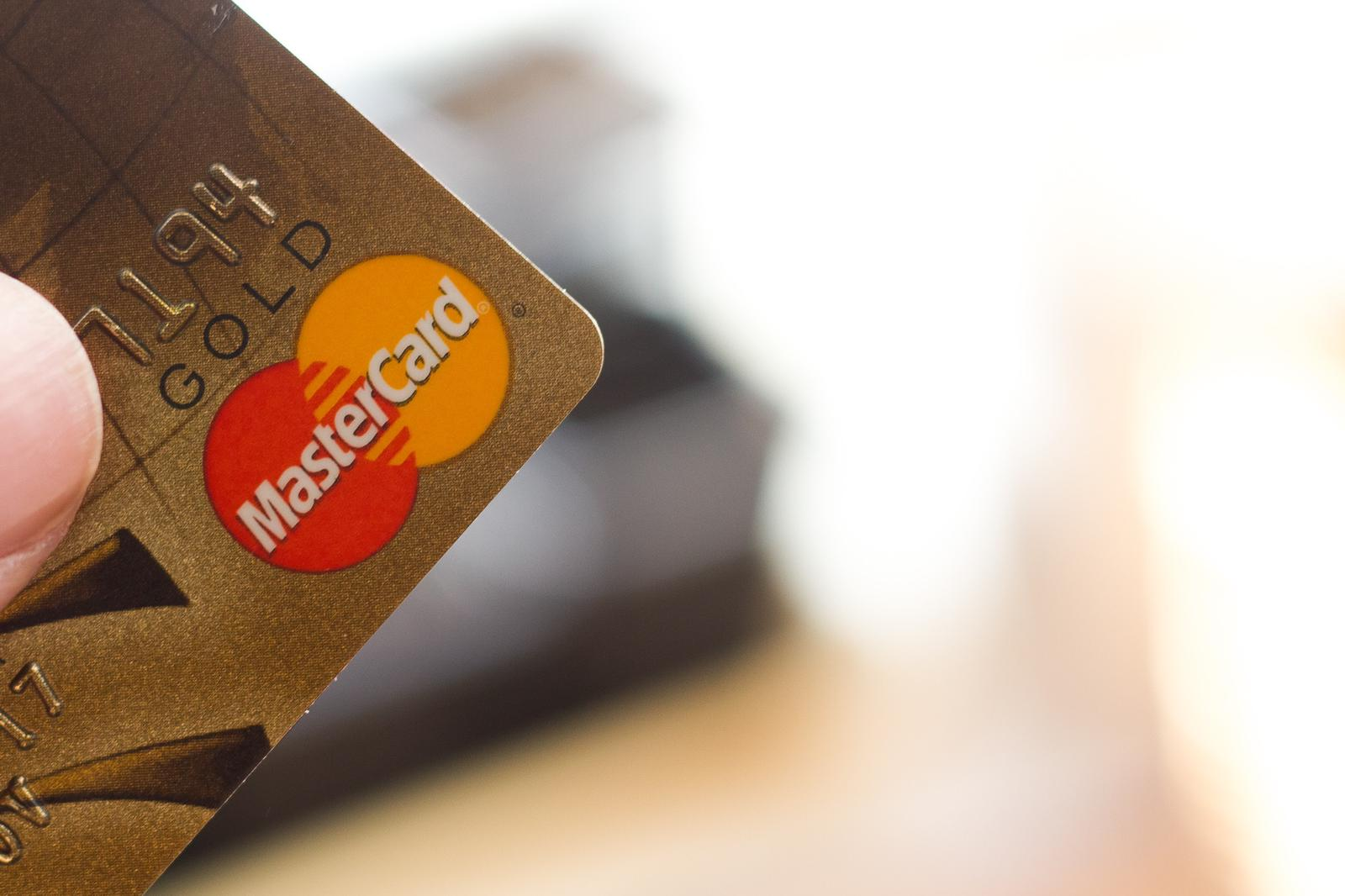Why did MasterCard start to work with Vyze