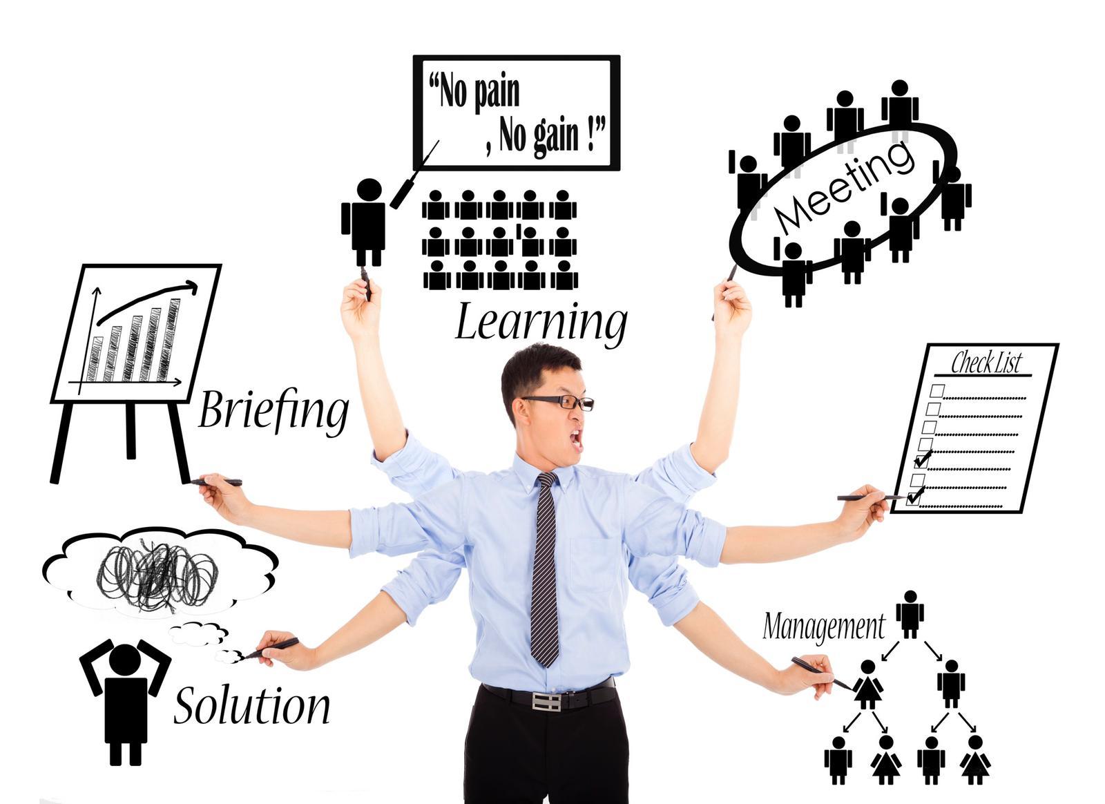Как многозадачность влияет на нашу производительность