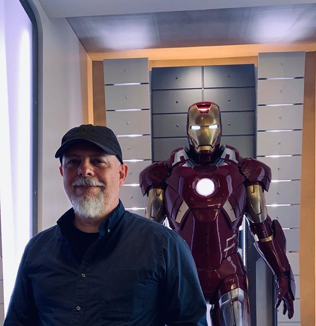 Fun visit to Marvel Studios #marvel #marvelstudios #ironman