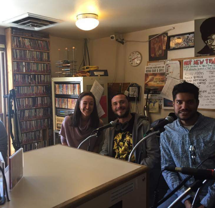 TVA on KOTO radio station for the win! From right to left,  Haseeb Tariq  (Founder of  RightClick )  Cory Warfield  (Founder of  Shedwool ) and Ashley Nager (TVA Program Manager).