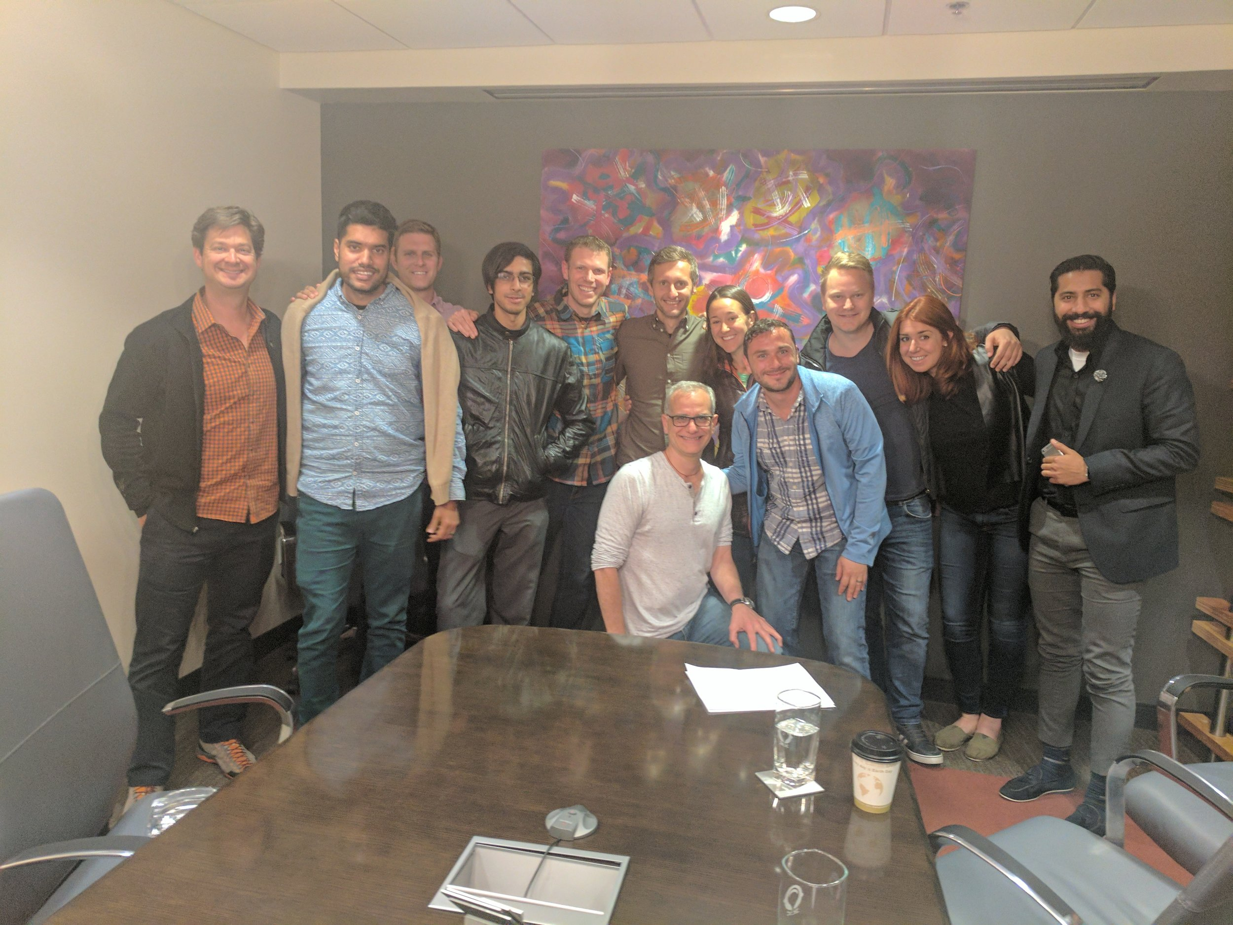 Group coaching session with  Jerry Colonna (TVA Mentor) and  Dan Putt ,Founders of  Reboot.io