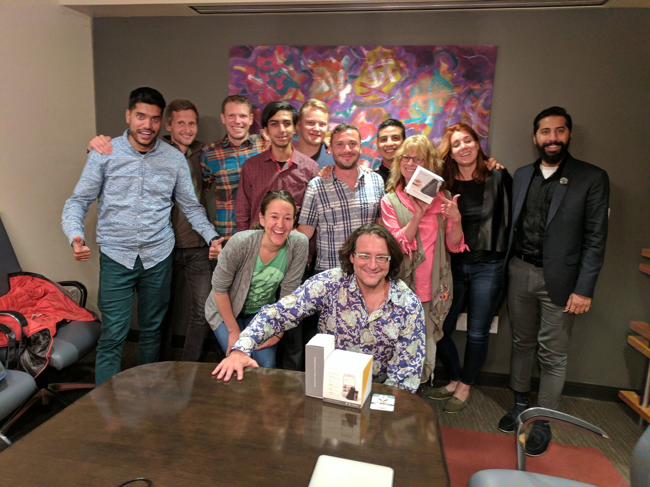 Group session with the legendary  Brad Feld , Managing Director at  Foundry Group