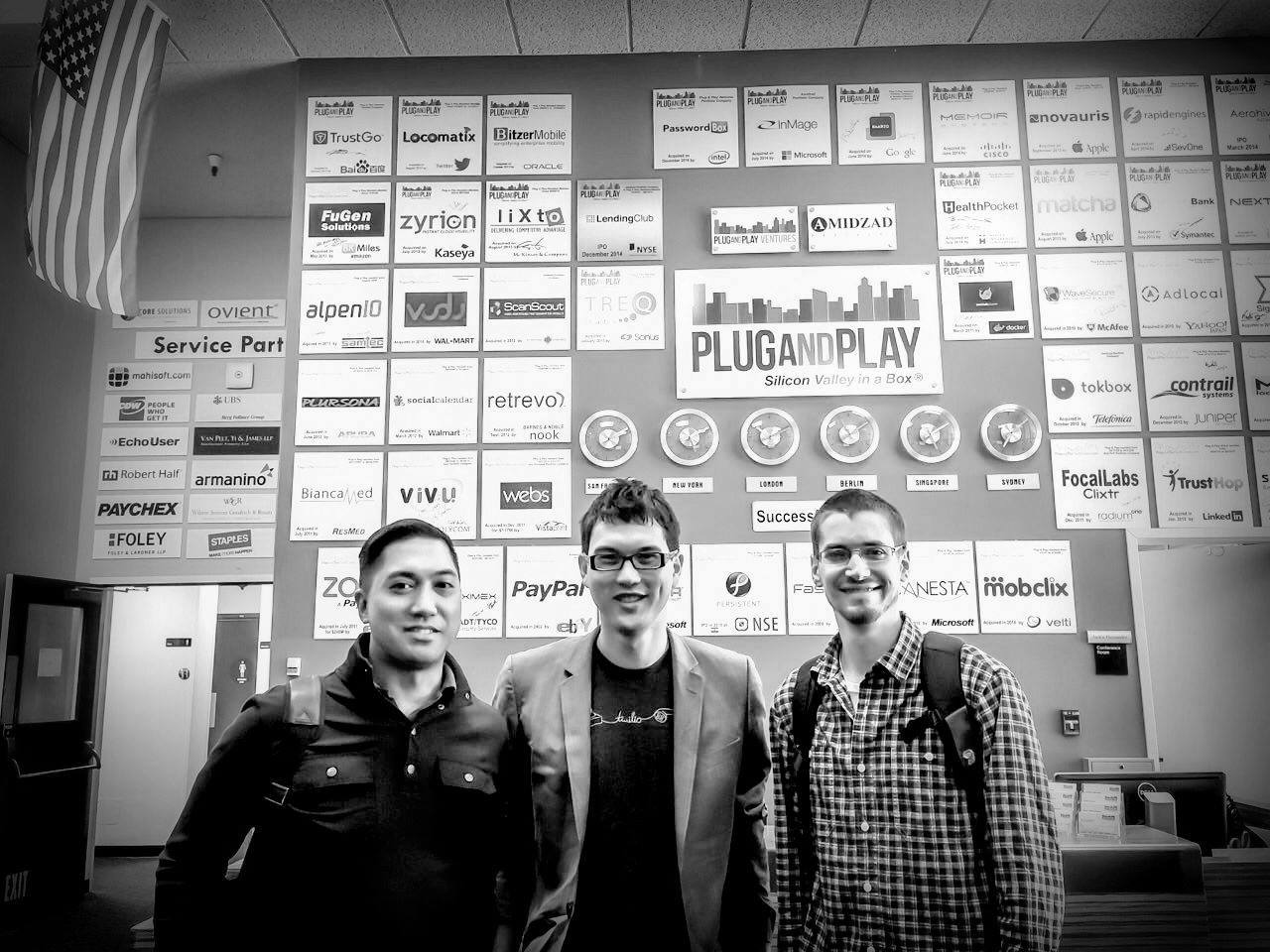 "Regular check in with incubators, accelerators in the Bay. Pictured above is the ""successful exits"" wall at Plug-N-Play. With Joe is  the Bitcoin Bitwage team . // Source:  JoeMaristela.com   Trivia: Most of Joe's Philippine tickets to and from the Bay are free, 'cause he charges so many of his businesses'  Meralco  (and other vendor) bills to Philippine Airline Visa cards—from call center offices to light steel manufacturing in Caloocan. You pay the credit card bill on time, and you can only gain. Nice little hack. #HustlersCode"