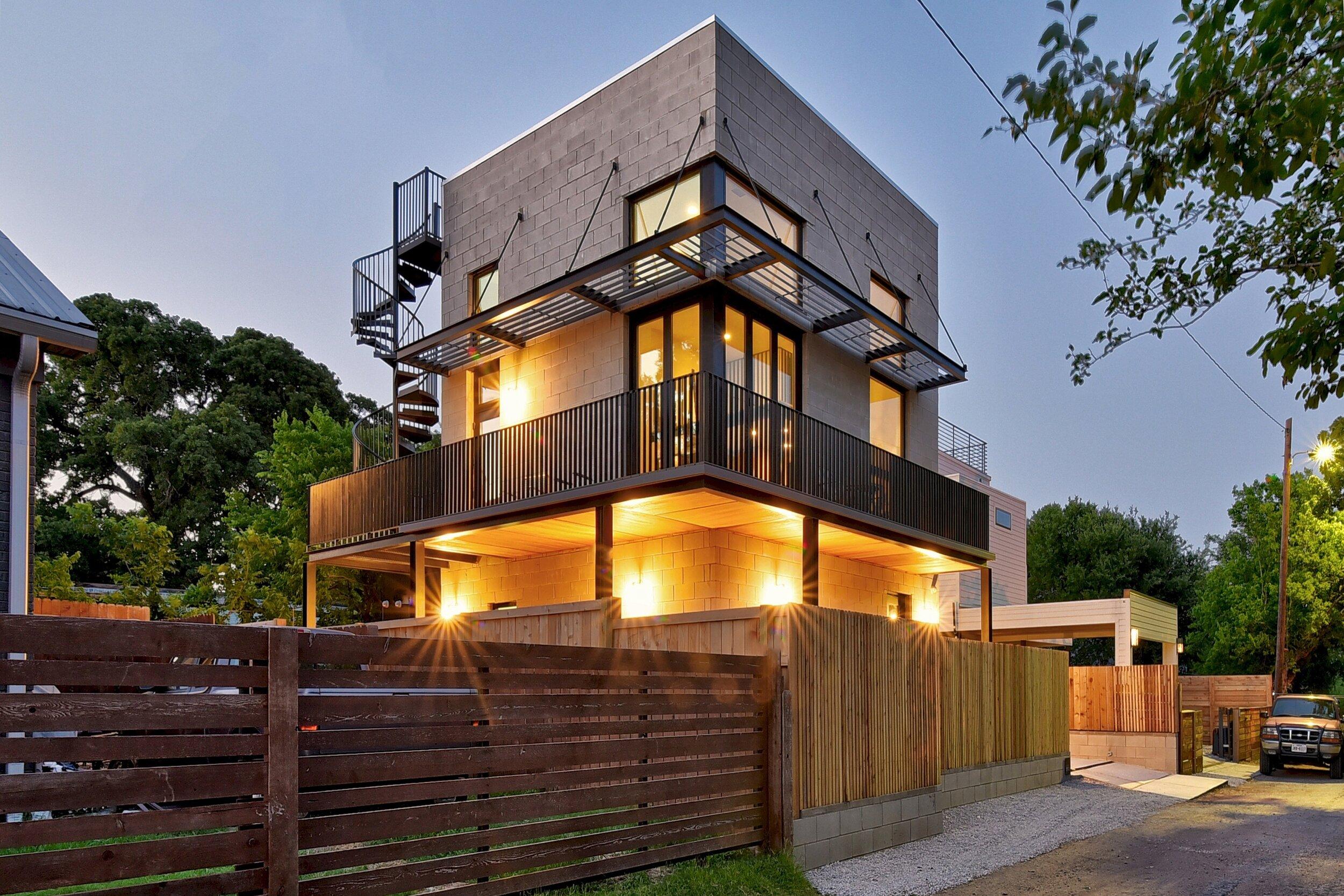 1207 San Bernard | Pavonetti Architecture Group