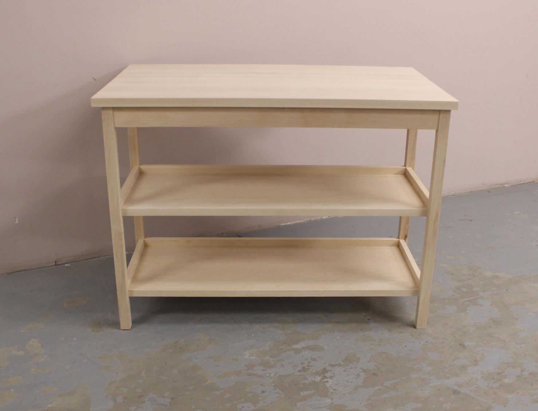 solid wood furniture, made in montreal, îlot de cuisine, meuble sure mesure,Montréal