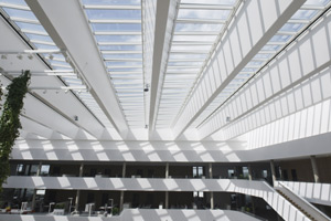 Atrium longlight / ridgelight