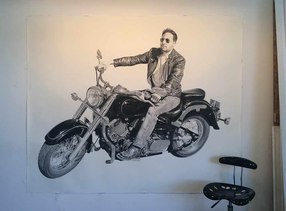 Matt, 100x72in, Private Commission