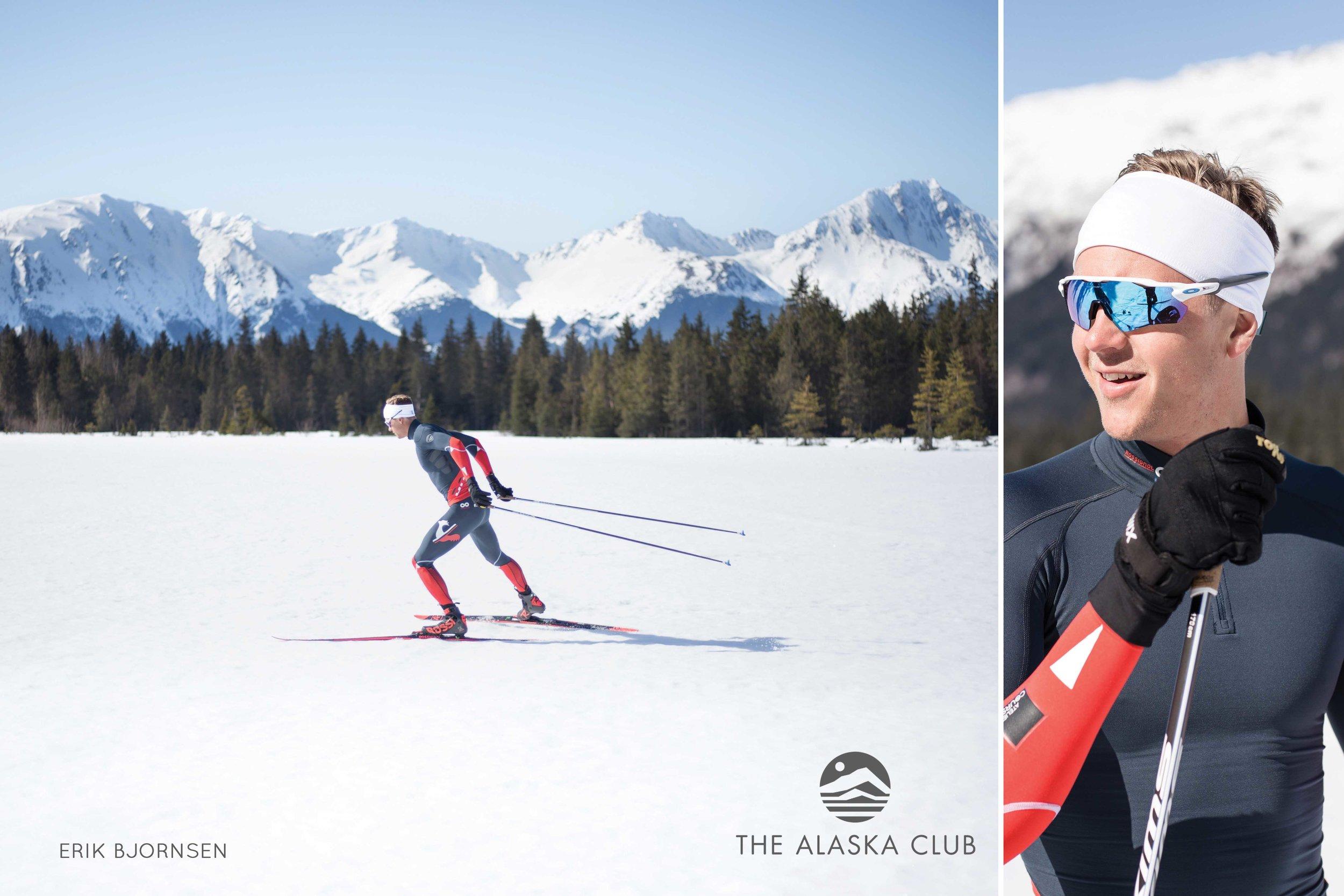 OLYMPIAN TELLS US HOW HE DOES IT ALL - Erik Bjornsen trains like an animal but still enjoys his summer.