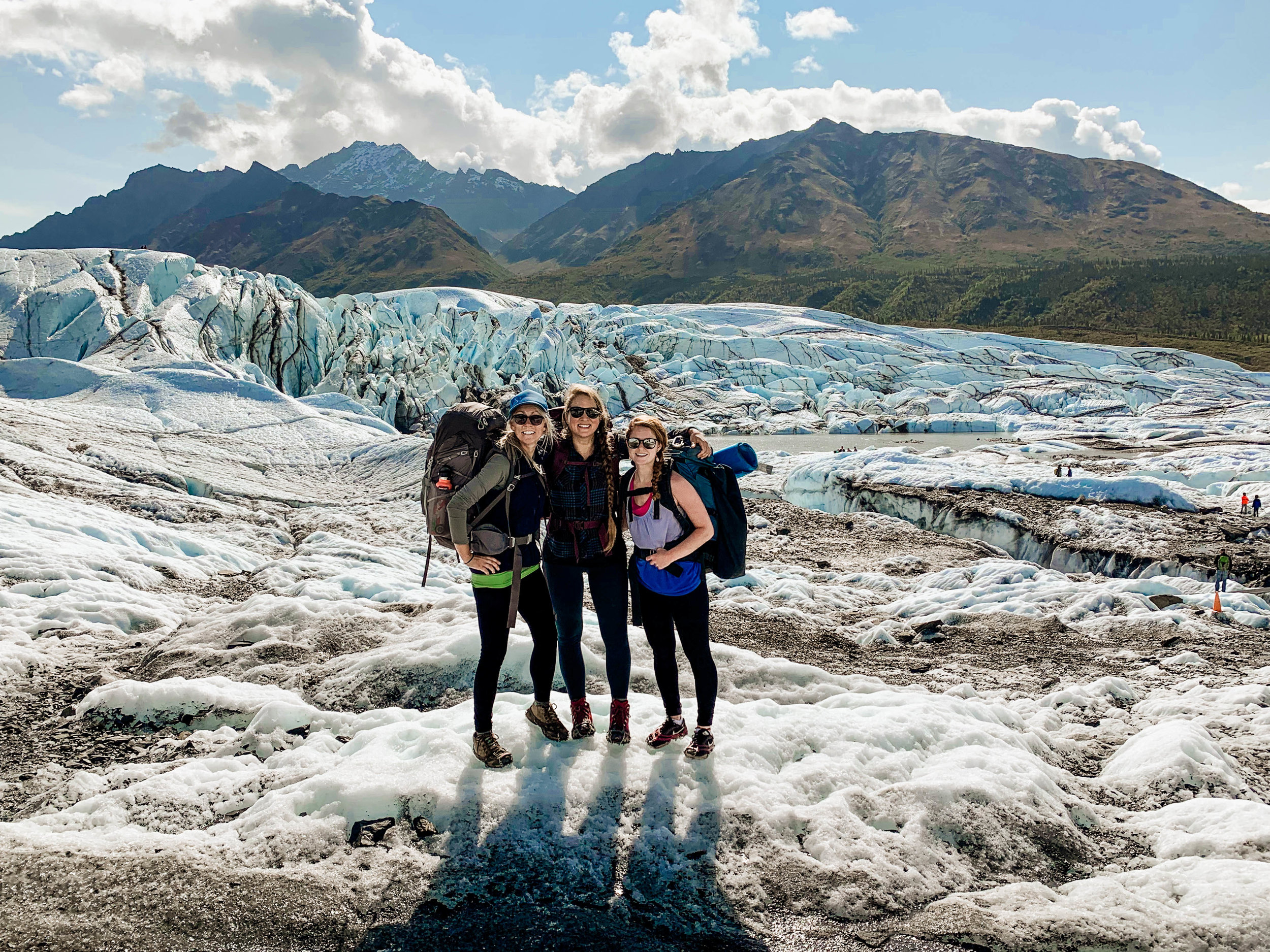 """NOT YOUR AVERAGE """"HIKE"""" - When lost in a maze of glacial cracks, do you stop and turn around, or try to make it?"""