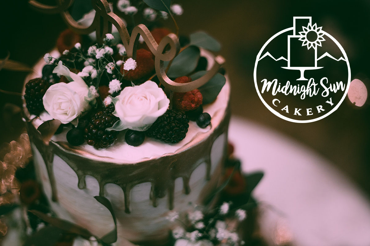 RE-BRANDING CUSTOM CAKES IN THE 49TH STATE - Exquisite designs that taste even better than they look. Ophira did a tasty re-brand of Midnight Sun Cakery.