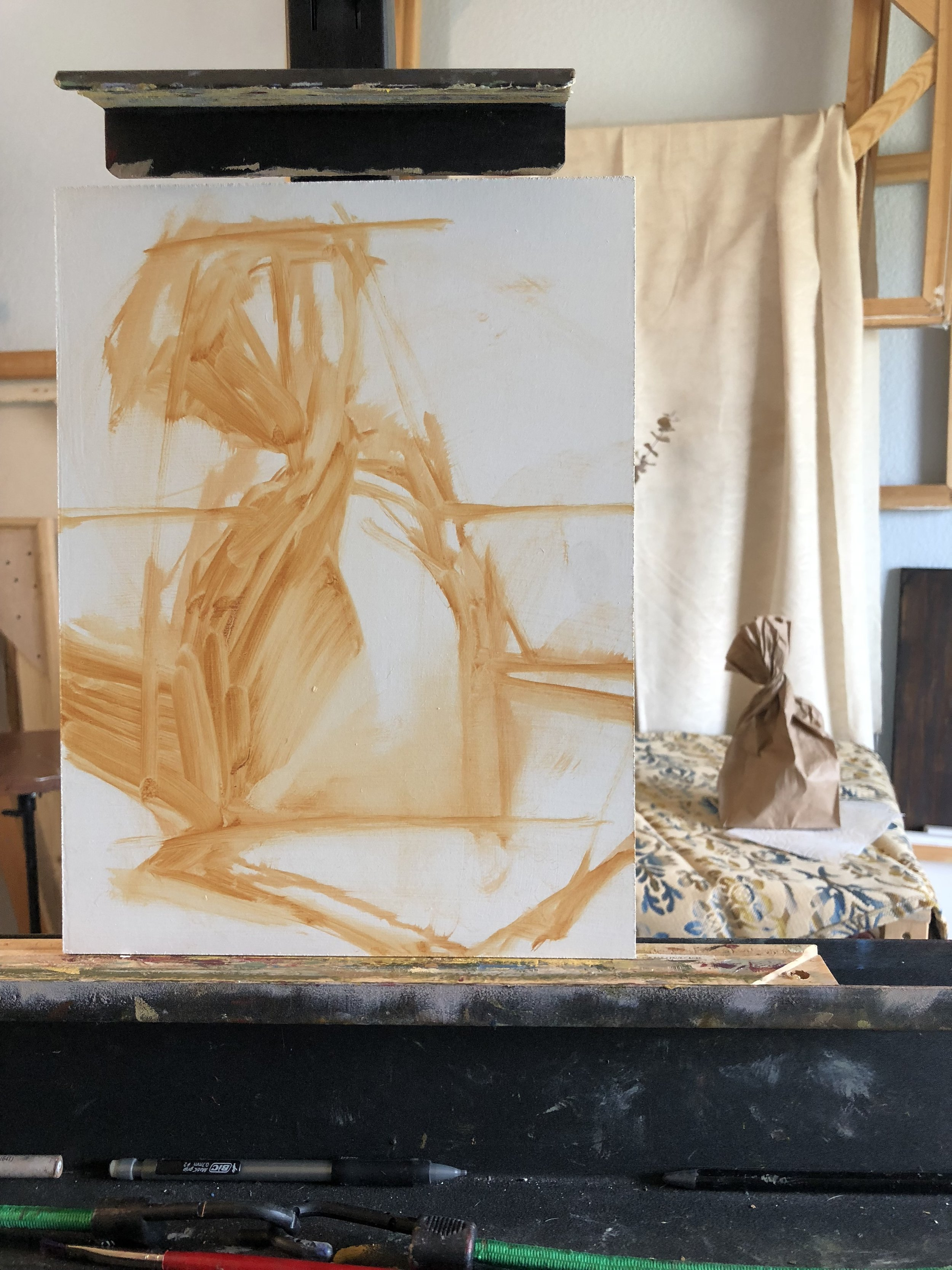 What's on the Easel?