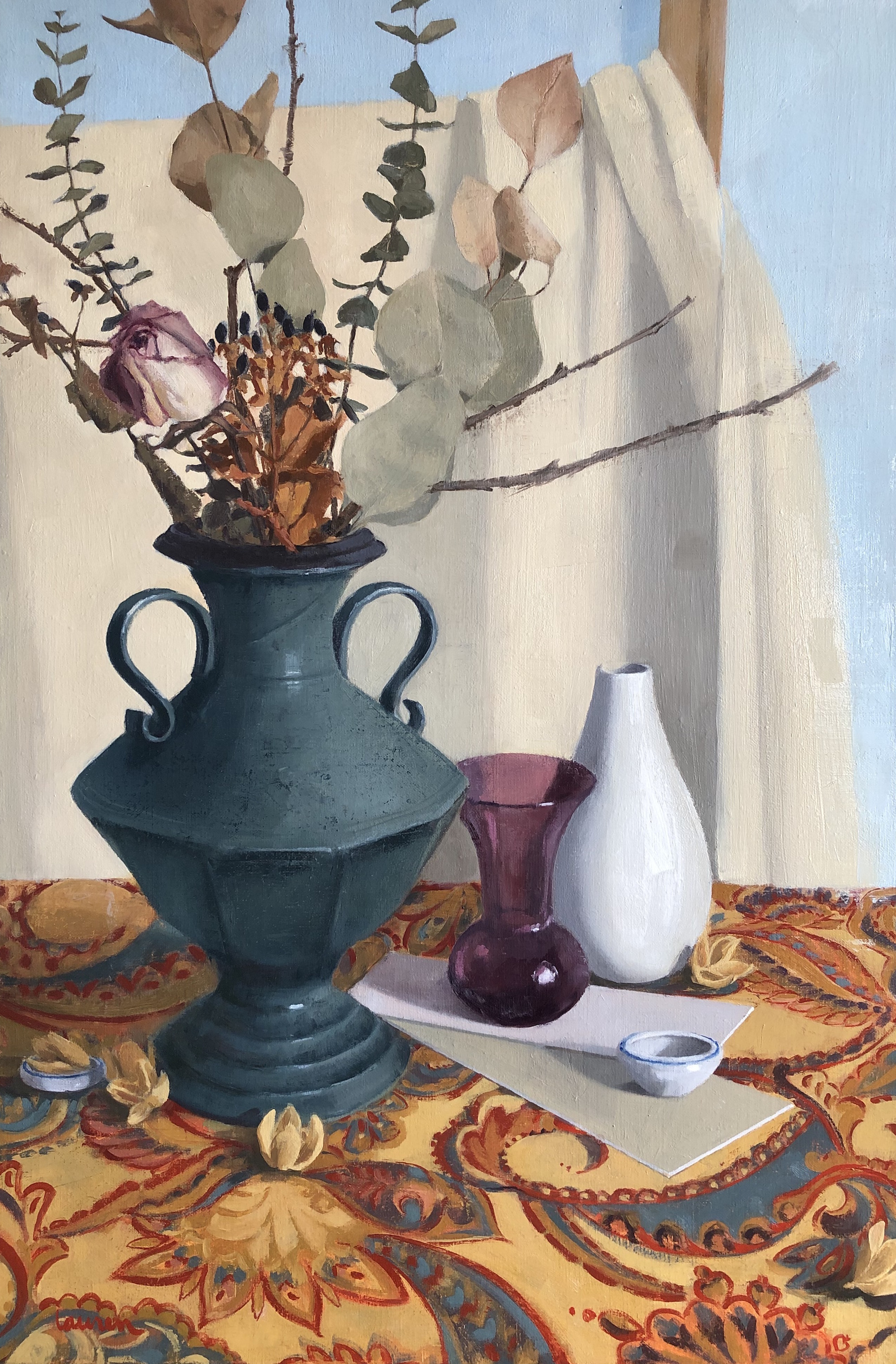 Copy of Still Life with Ceramic Vessel
