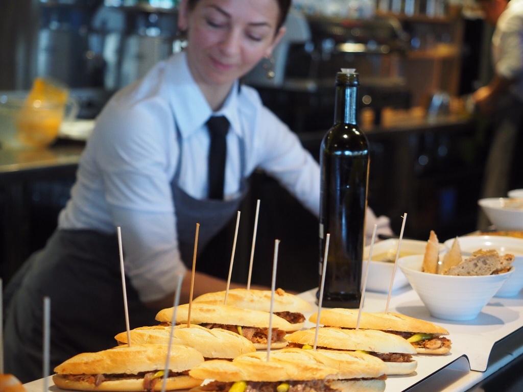 San Sebastian, Spain is a foodie's heaven, famous for speared tapas called pintxos