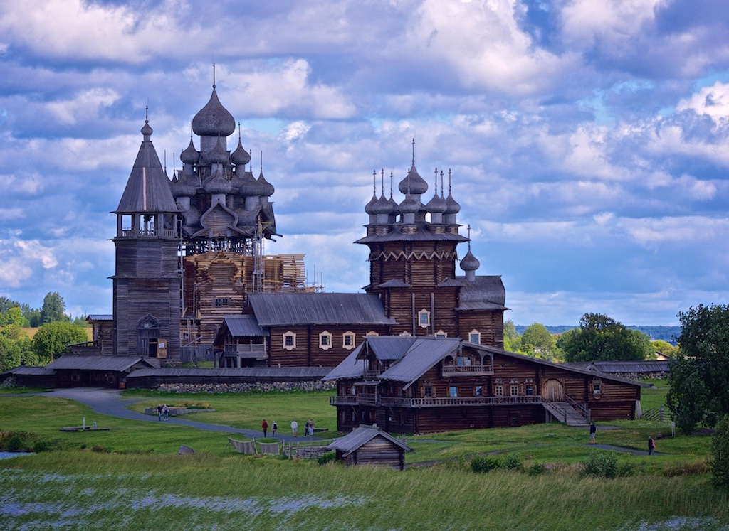 Our Waterways of the Tsars cruise took us to Kizhi Island, where the Transfiguration Church was straight out of a fairytale