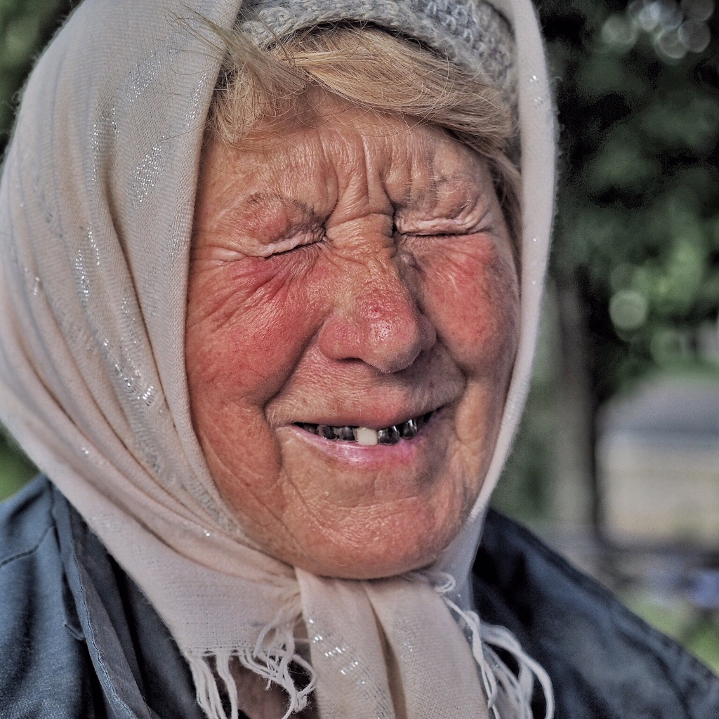 I loved this souvenir seller in Uglich, Russia, a stop on our Viking cruise between St. Petersburg and Moscow