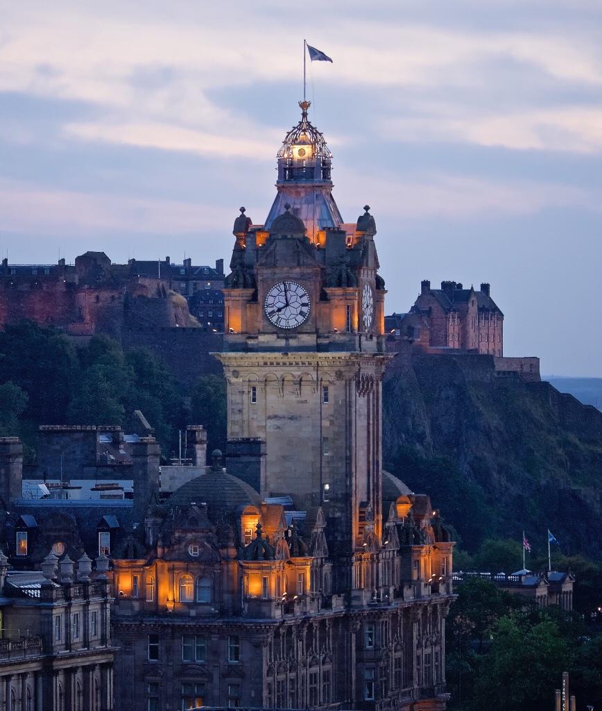 Scotland's capital, Edinburgh