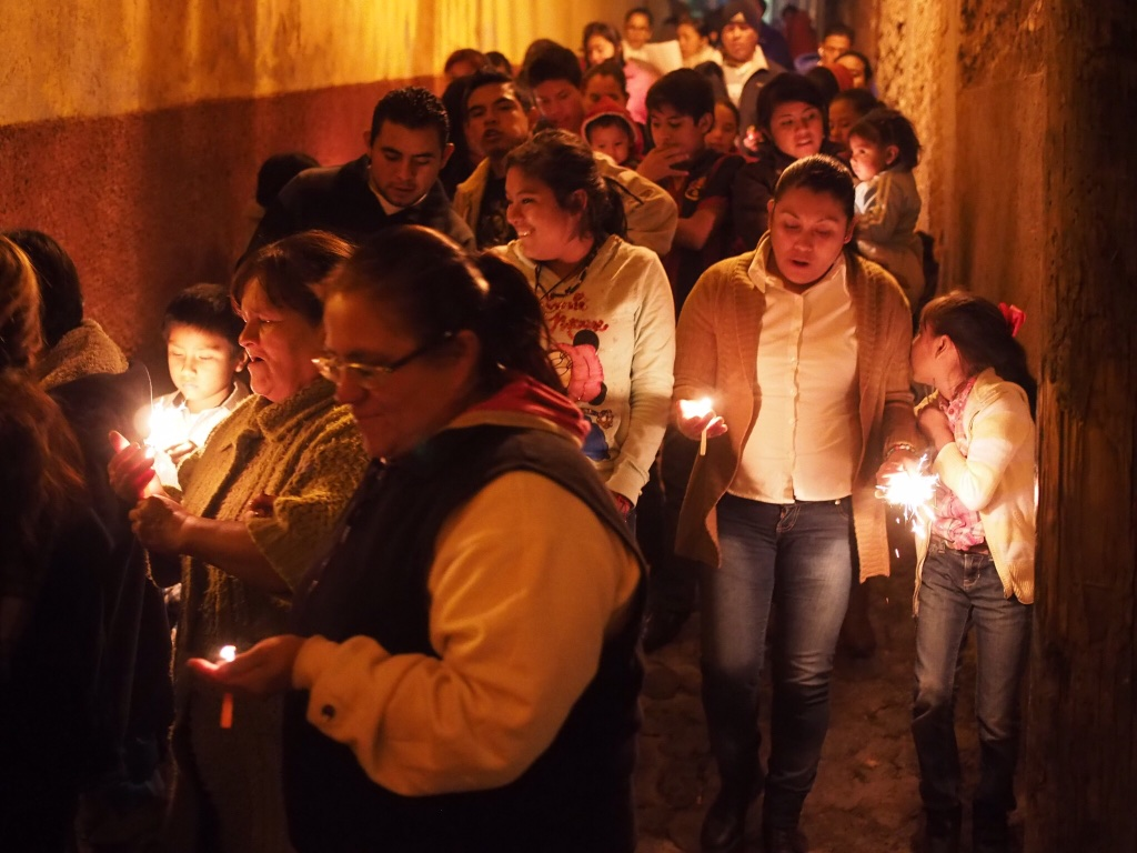 In San Miguel, nightly posadas evoke Mary and Joseph's search for shelter
