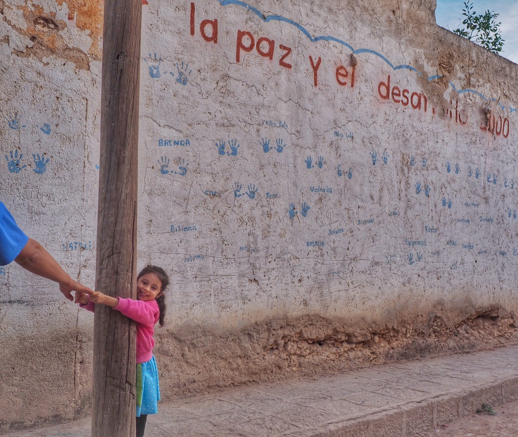 Last trip of the year: a getaway to the former mining town Mineral de Pozos, about an hour's drive from San Miguel