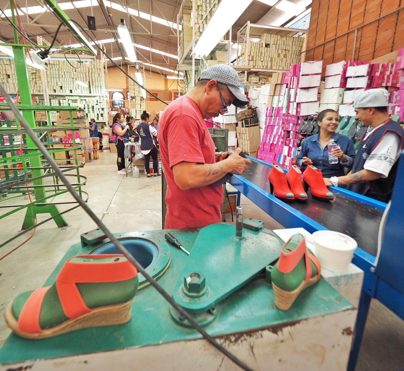 San Miguel Shoes employs about 80 people in the company's two San Miguel factories.