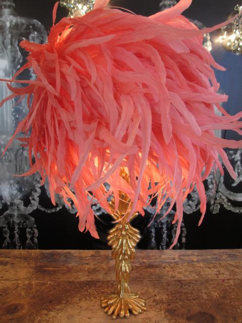 PRODUCT - LAMP PINK ROOSTER LAMP.jpg