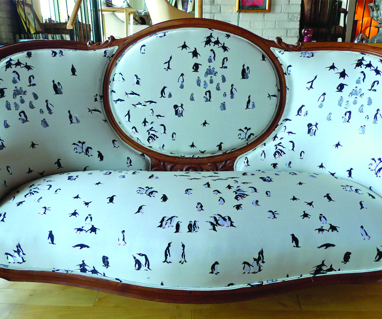 UPHOLSTERY IS FABRICATED BY EUROPEAN TRAINED TRADES IN TORONTO