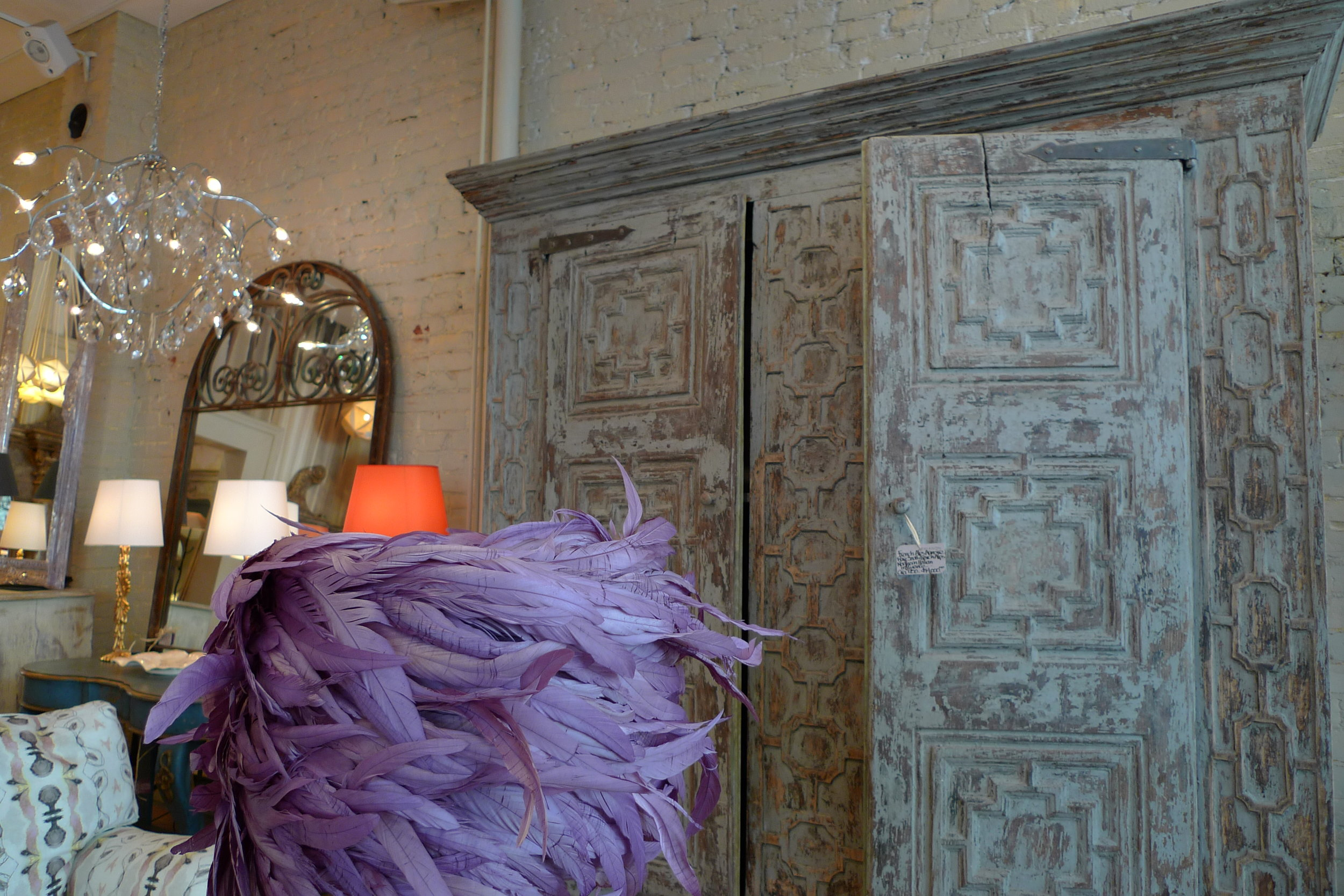 Antiques, a selection of unusual furniture ranging from the 18th to more contemporary pieces