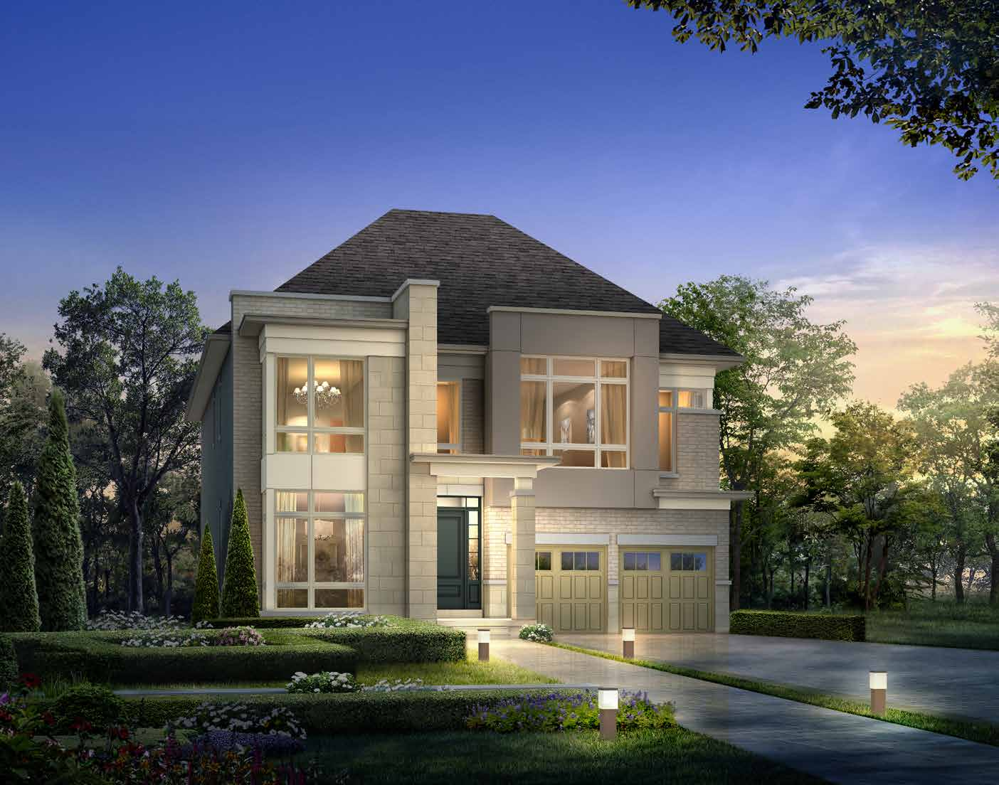 ELEVATION C 3707 sq. ft.