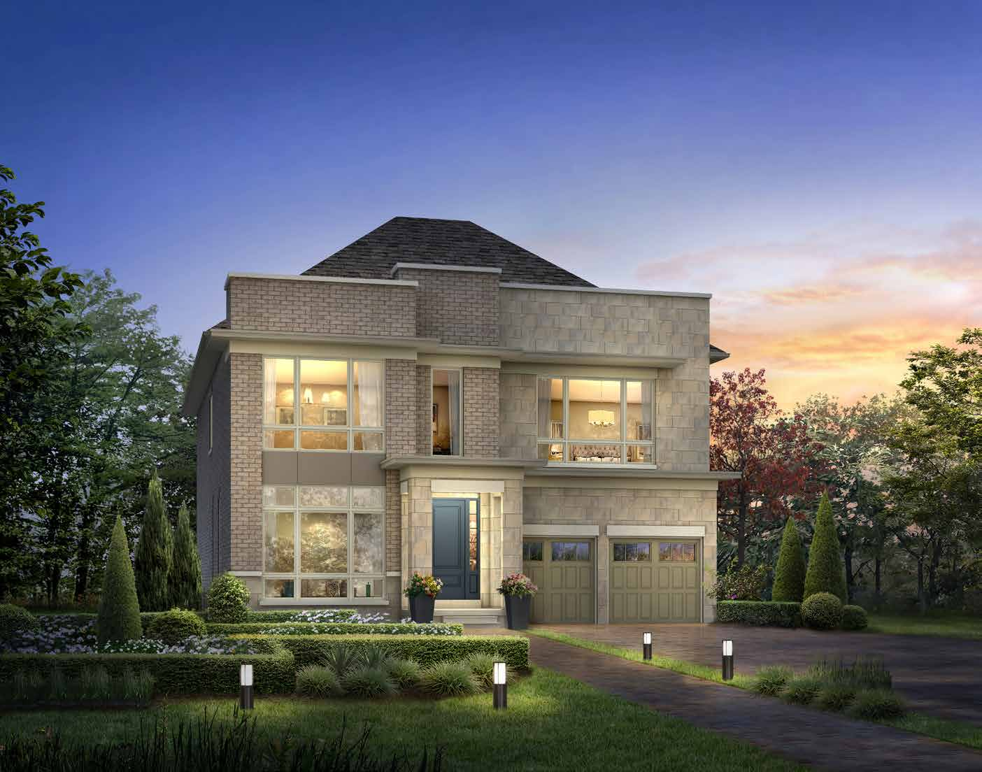 ELEVATION C 3786 sq. ft.