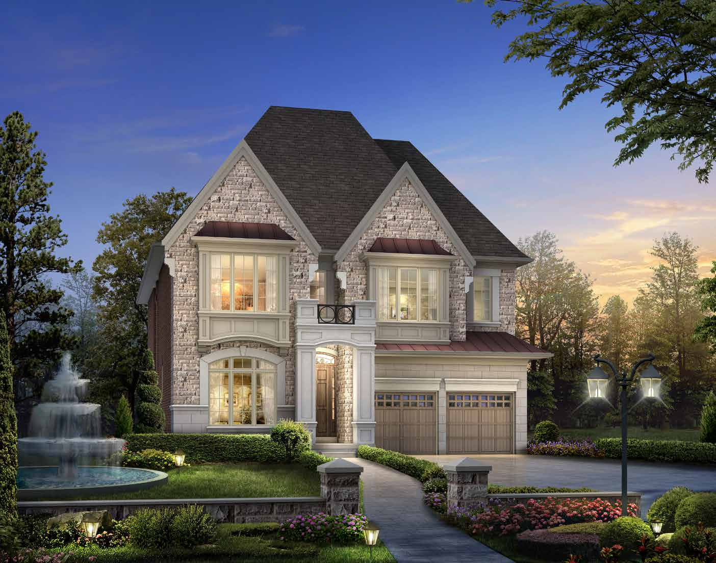 ELEVATION A 4158 sq. ft.
