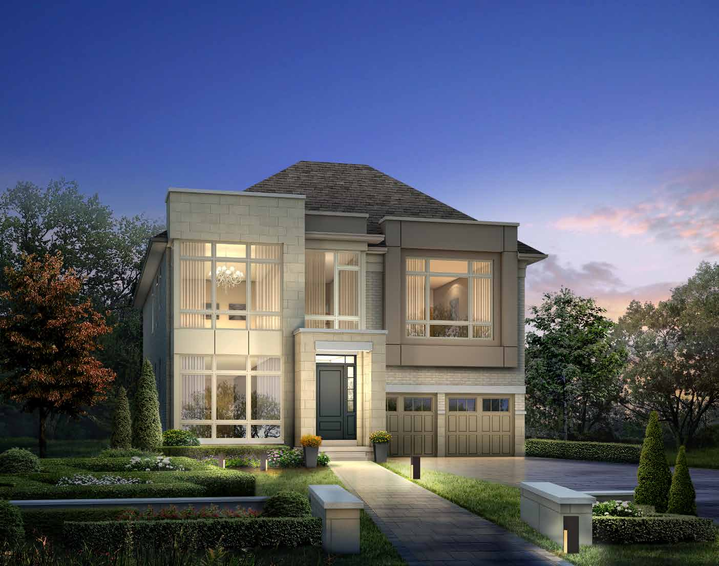 ELEVATION C 4338 sq. ft.