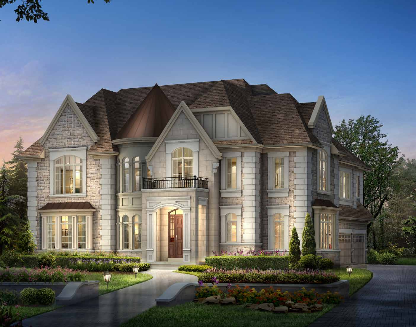 ELEVATION A 4178 sq. ft.