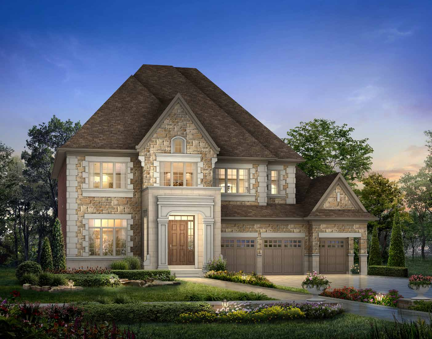 ELEVATION A 4857 sq. ft.