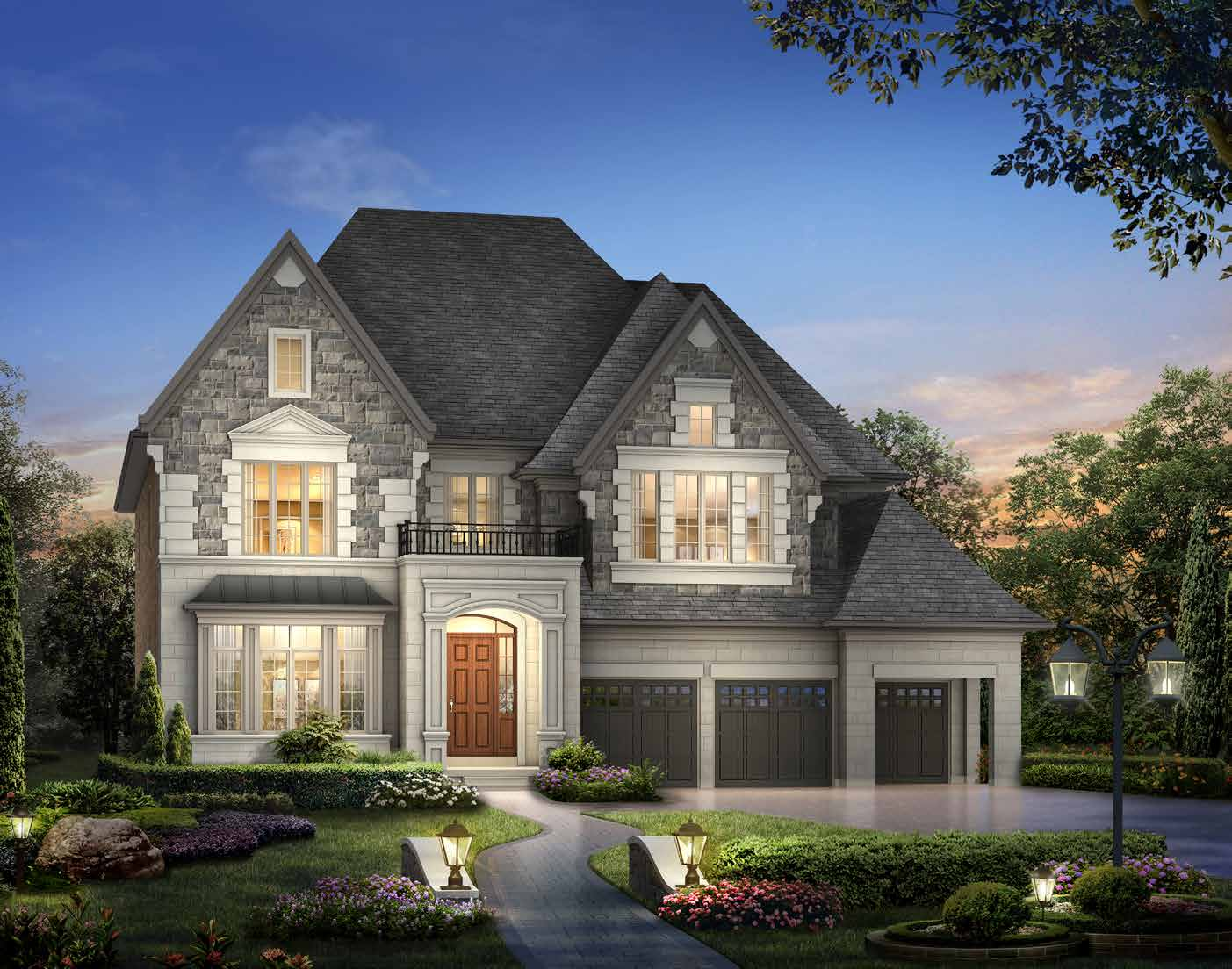ELEVATION A 5125 sq. ft.
