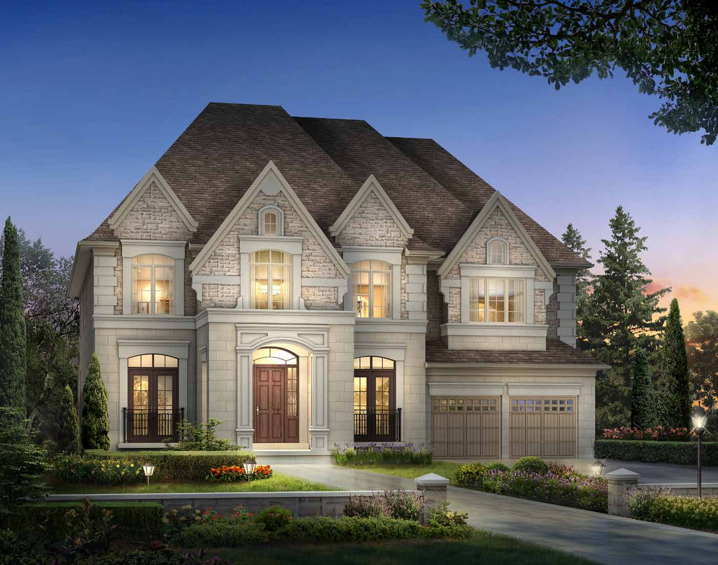 ELEVATION A 5849 sq. ft.