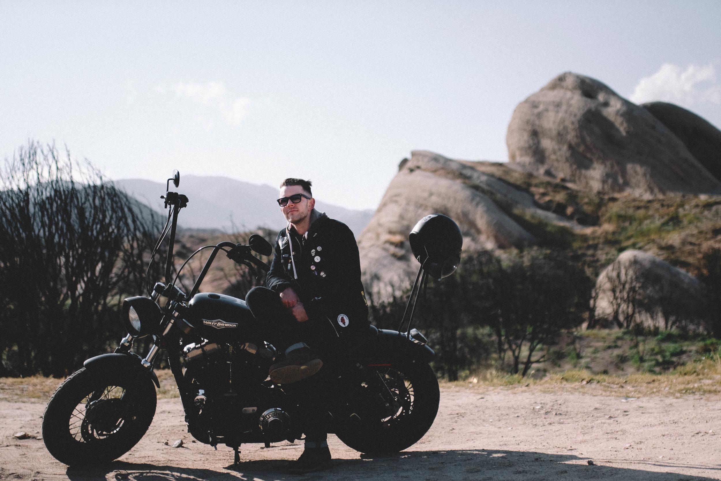 hot biker boy - SamErica Studios