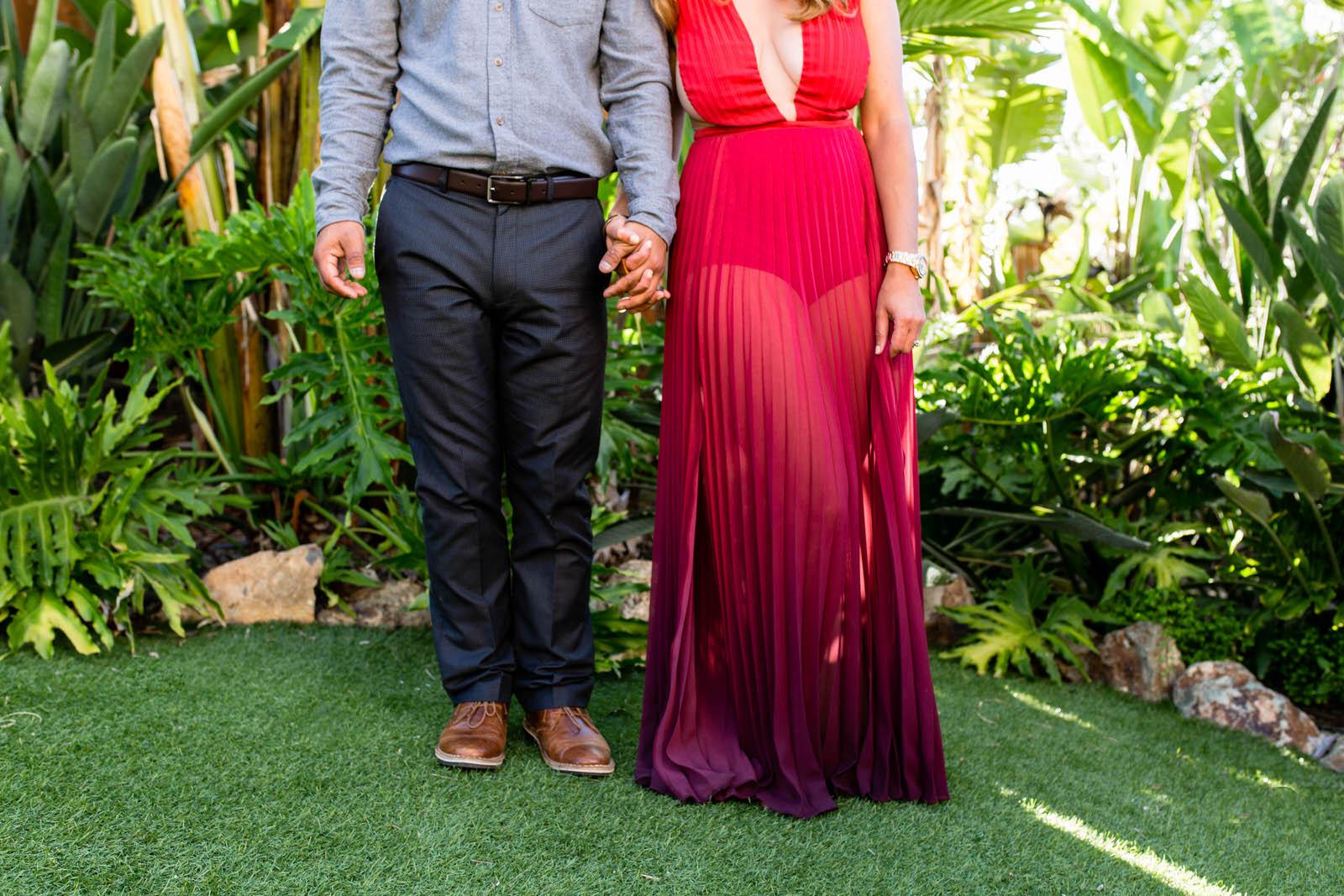 Red Ombre Dress |SamErica Studios