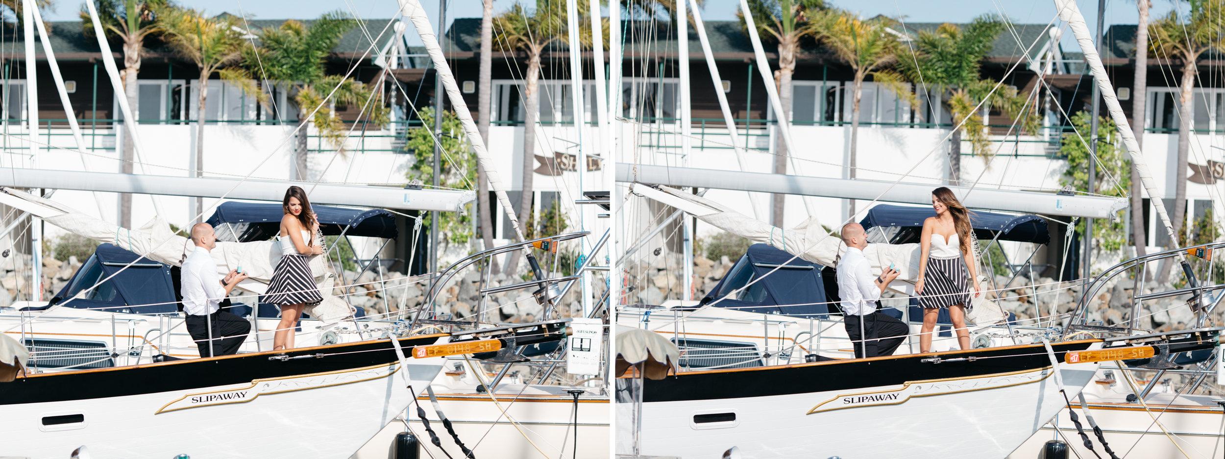 SamErica Studios - 4th of July Boat Proposal San Diego