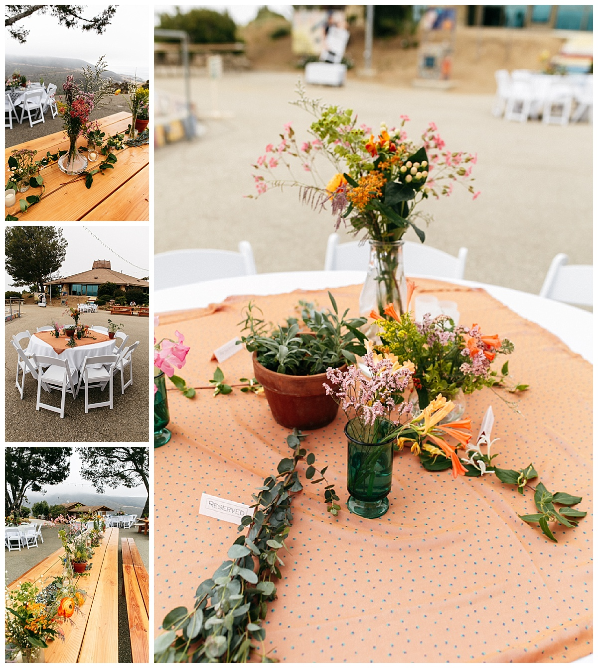 SamErica Studios - Colorful Modern Wedding Decor