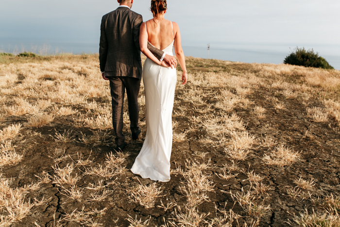 SamErica Studios - intimate Couples portraits mountaintop wedding in Malibu