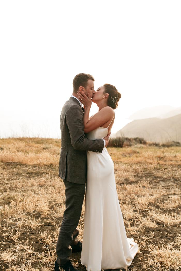 SamErica Studios - Couples portraits mountaintop wedding in Malibu