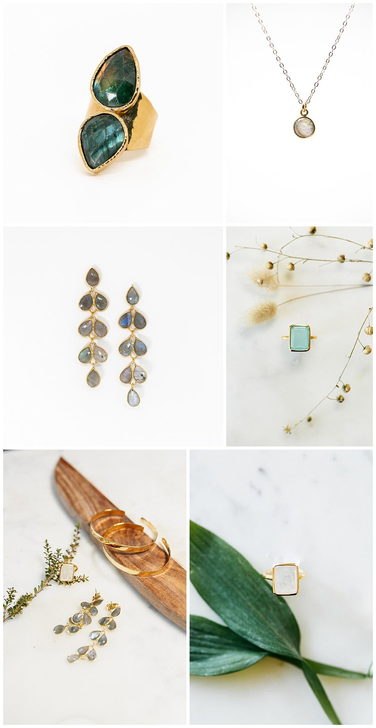 SamErica Studios - branding photography for jewelry - wedding detail shots - wedding jewelry - teal and blue wedding