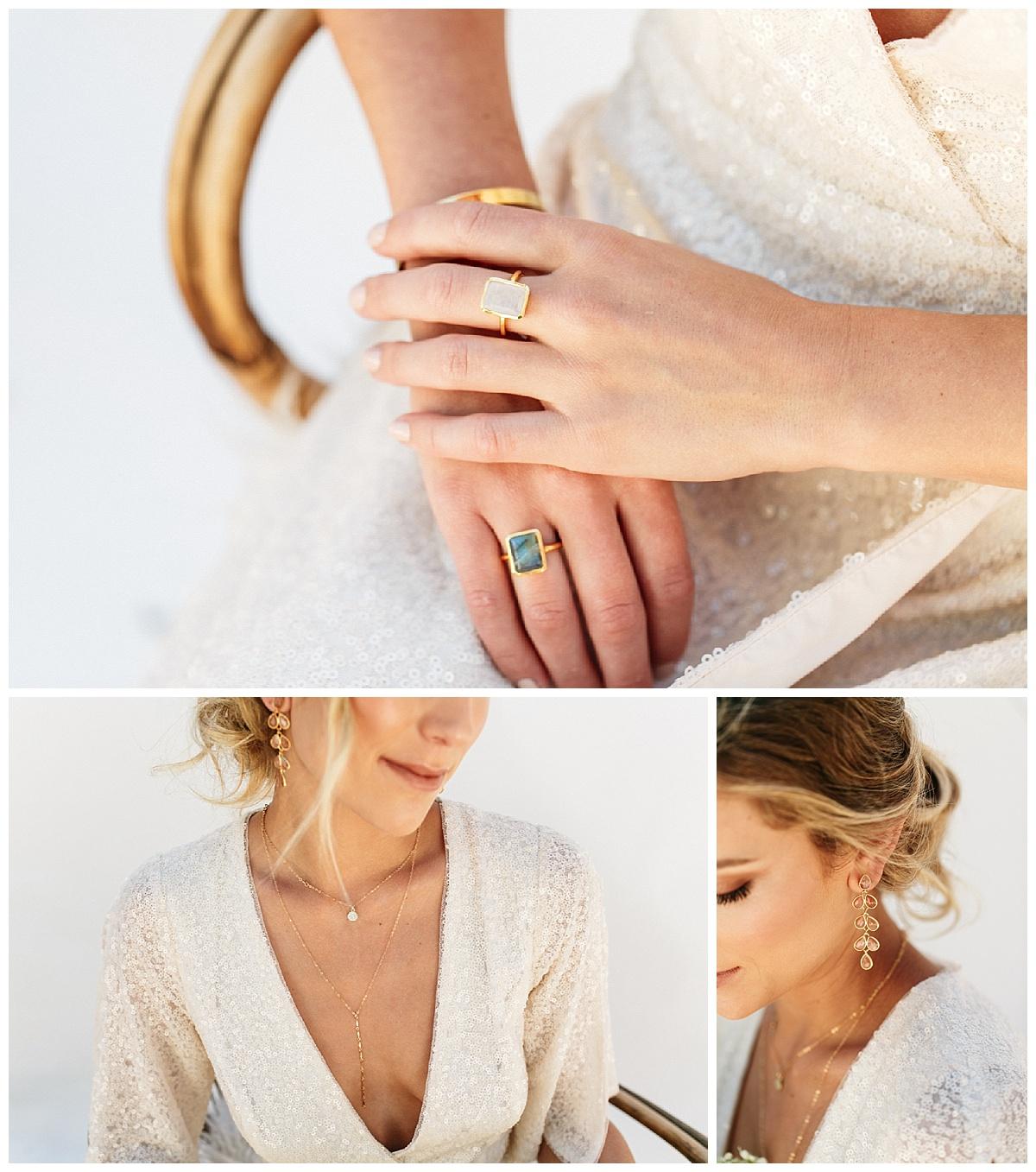 SamErica Studios - modern minimalist wedding jewelry