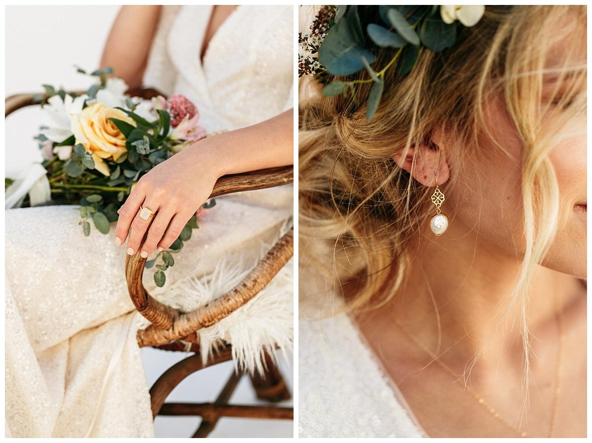 SamErica Studios - minimalist bridal jewelry - modern bride