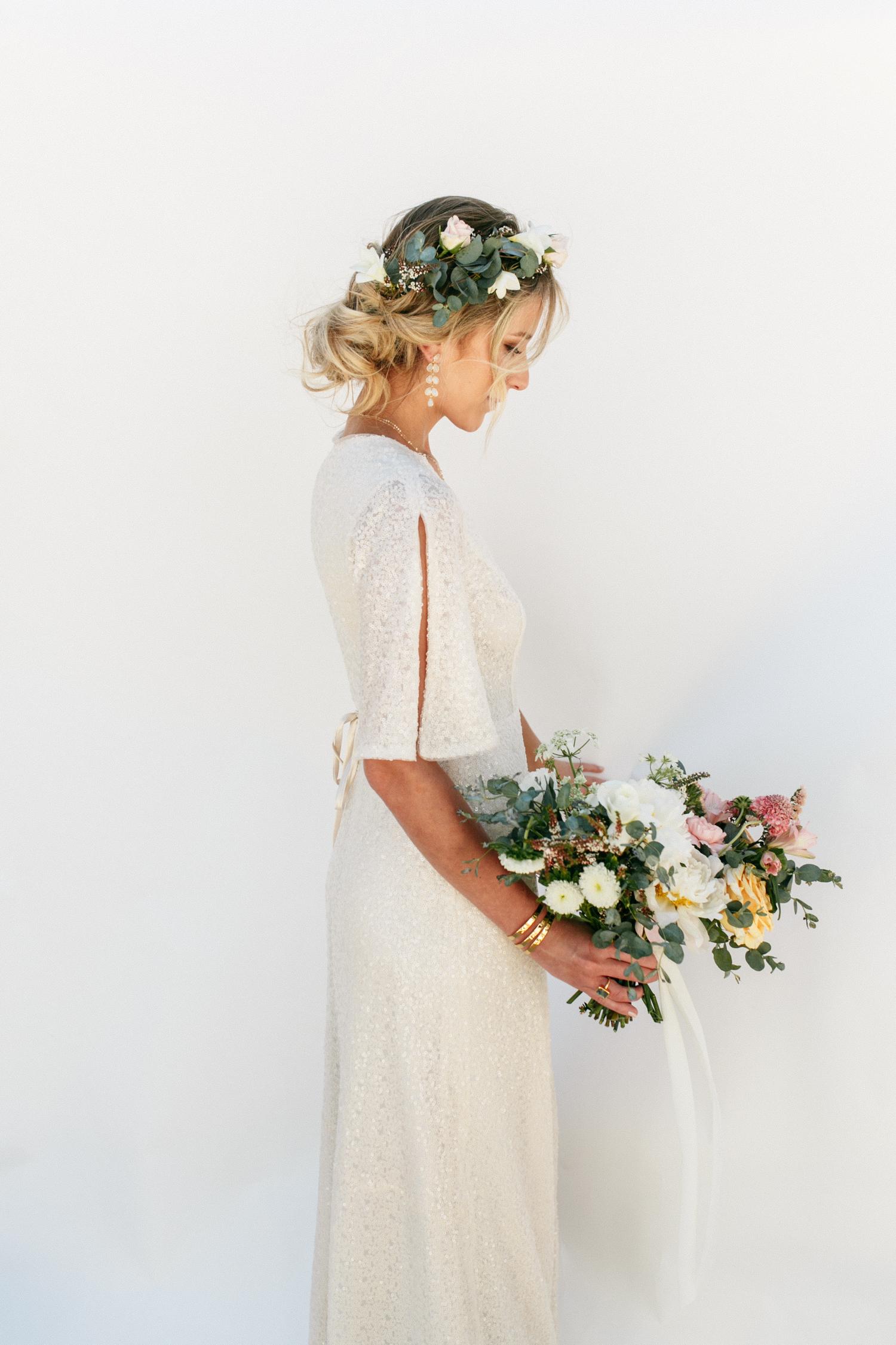 SamErica Studios - modern boho bride - minimalist wedding jewelry