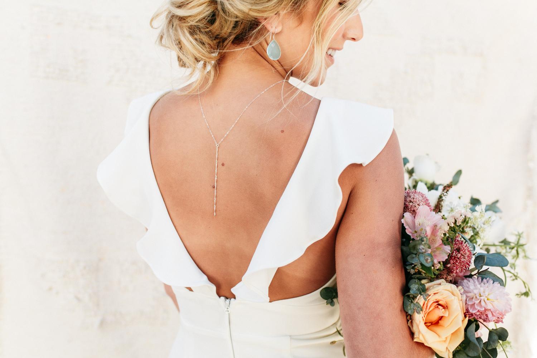 SamErica Studios - modern wedding jewelry - bride portrait photos